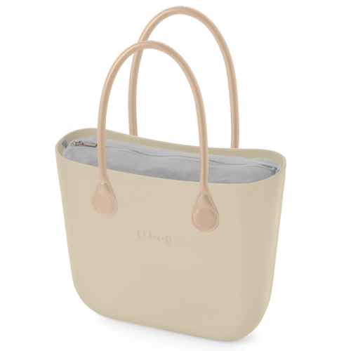 ЧАНТА OBAG SAND LONG LEATHER NATURAL